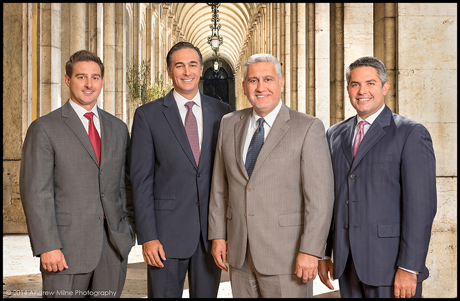Business headshot photographers for law firms in Miami and Fort Lauderdale Florida