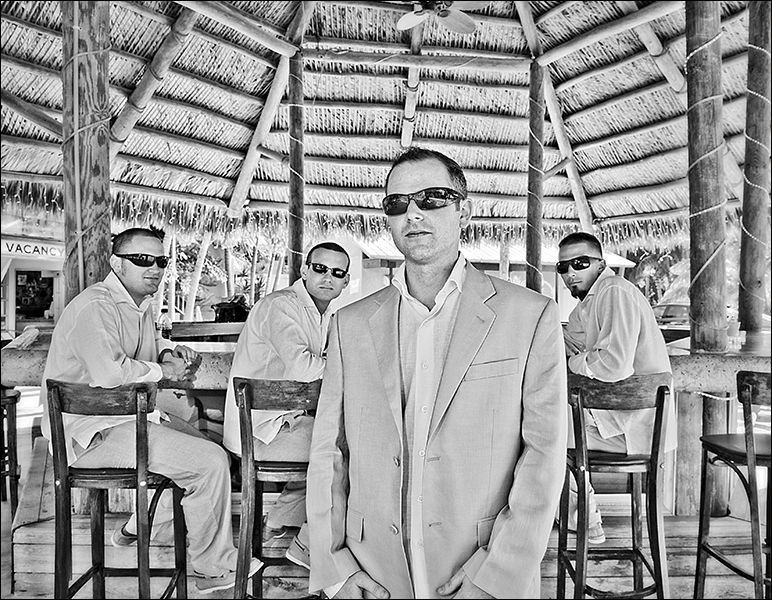 Groom and Groomsmen in The Keys Florida